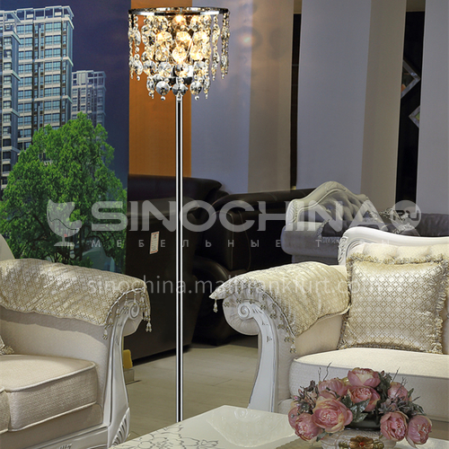 Luxury crystal American modern Nordic minimalist creative living room bedroom fashion floor lamp-GD-0355